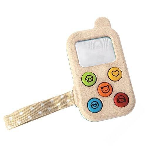 Деревянные игрушки Plan Toys Мой первый мобильный телефон игрушка электронная развивающая мой первый ноутбук