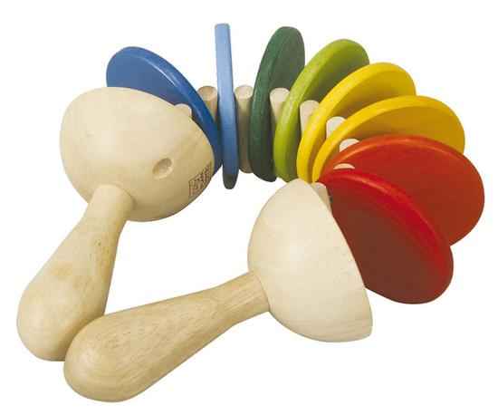 Деревянные игрушки Plan Toys Трещотка деревянные игрушки plan toys мой первый мобильный телефон