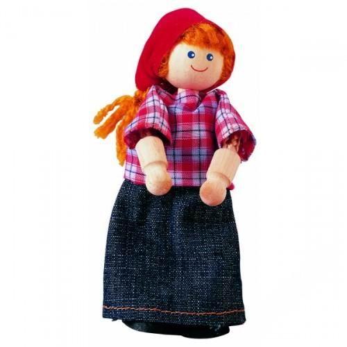 Деревянные игрушки Plan Toys Жена фермера игрушки для ванны tolo toys набор ведерок квадратные