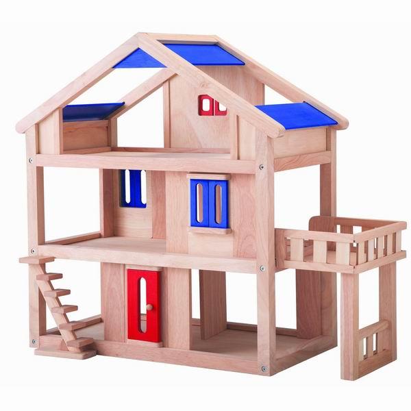 Купить Деревянные игрушки, Деревянная игрушка Plan Toys Кукольный дом с террасой
