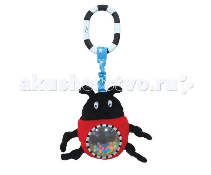 Подвесные игрушки Жирафики с зеркальцем Жучок Джек игрушки подвески gulliver подвеска с зеркальцем медвежонок оскар