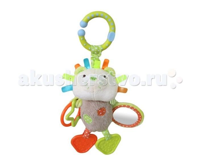 Прорезыватели Жирафики Подвеска с зеркальцем Львенок Леси игрушки подвески gulliver подвеска с зеркальцем медвежонок оскар