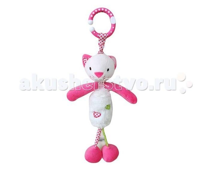 Подвесные игрушки Жирафики с колокольчиком Кошечка Кити жирафики игрушка подвеска крабик с колокольчиком