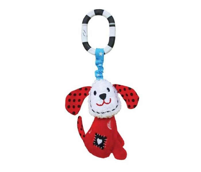 Подвесные игрушки Жирафики с колокольчиком Щенок Макс игрушка подвеска акробат хрюнтик с колокольчиком