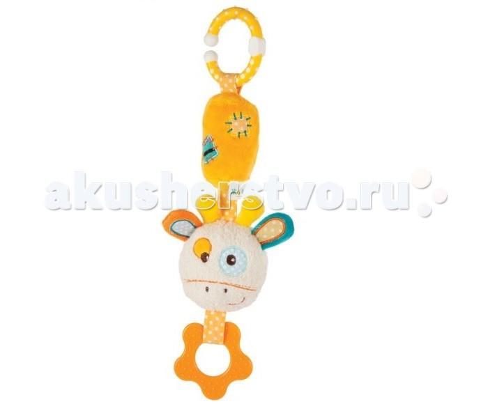 Прорезыватели Жирафики Подвеска с колокольчиком Жирафик Дэнни игрушка подвеска акробат хрюнтик с колокольчиком