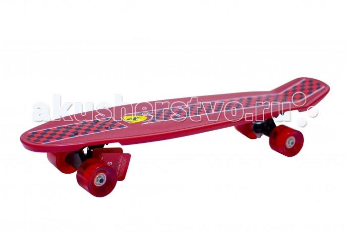 Ferrari Penny Board (Large) FBP 5Penny Board (Large) FBP 5Ferrari Penny Board (Large) FBP 5  Особенности: Возраст: 12+ Размер: 71.50х17.80 см,  Материал: полипропилен  Колеса: ПУ Подшипники: ABEC-5<br>