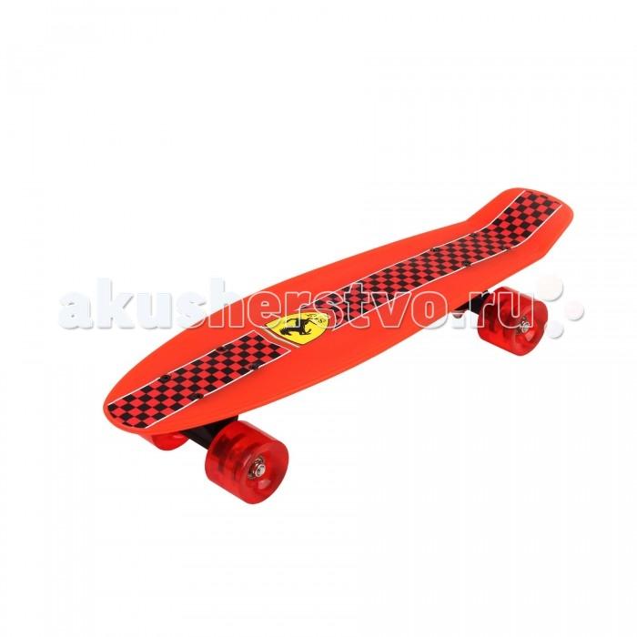 Ferrari Penny Board (Medium) FBP 3Penny Board (Medium) FBP 3Ferrari Penny Board (Medium) FBP 5  Особенности: Возраст: 7+ Размер: 56.5х14.5 см,  Материал: полипропилен  Колеса: ПУ Подшипники: ABEC-5<br>