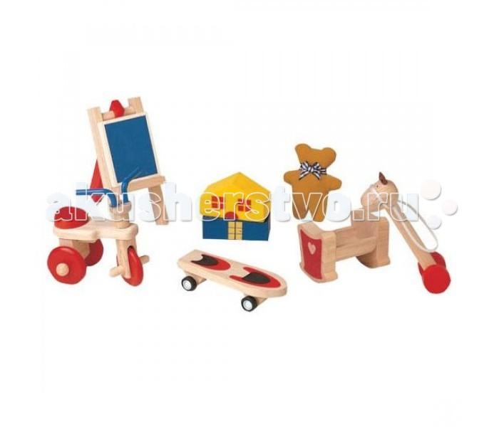 Каталка-игрушка Plan Toys Набор игрушек для кукол