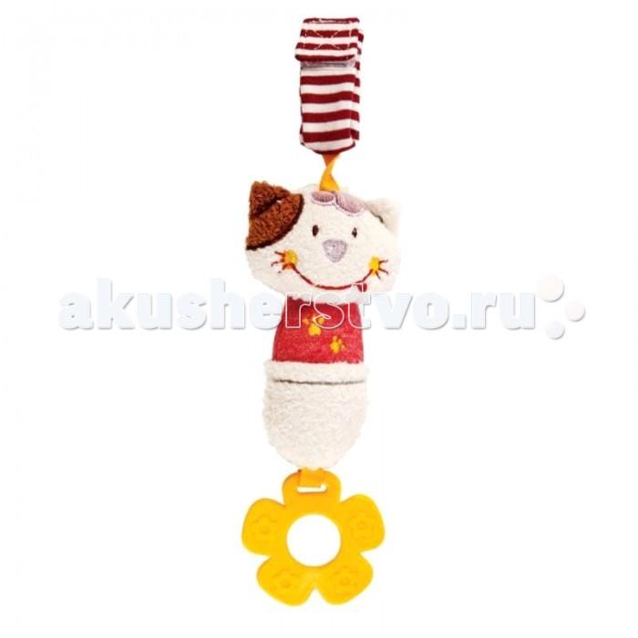 Прорезыватели Жирафики Подвеска с колокольчиком Кошечка Мими игрушка подвеска акробат хрюнтик с колокольчиком