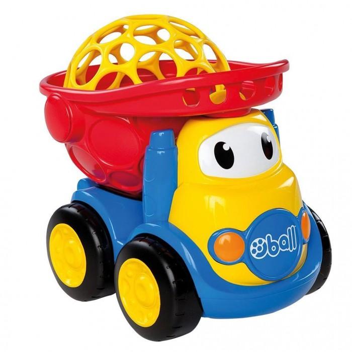 Oball Самосвал 10312Самосвал 10312Oball Самосвал яркий, с откидным кузовом в который малыш сможет поместить свои любимые игрушки!  Съемный кузов самосвала защищён куполом-мячиком, который можно открывать и закрывать. Крышка-купол с крупными отверстиями, чтобы малышу было удобно снимать и надевать ее на кузов или держаться за нее, катая машинку. Откидной кузов можно заблокировать — тогда малышу будет удобно переносить машинку, держа купол-мячик пальчиками. Кузов игрушечного самосвала расположен максимально близко к полу - это защищает машинку от переворачивания. Колёса самосвала крутятся — ребенок может с лёгкостью катать машинку по ровной поверхности. На кабине машинки нарисованы глазки.<br>