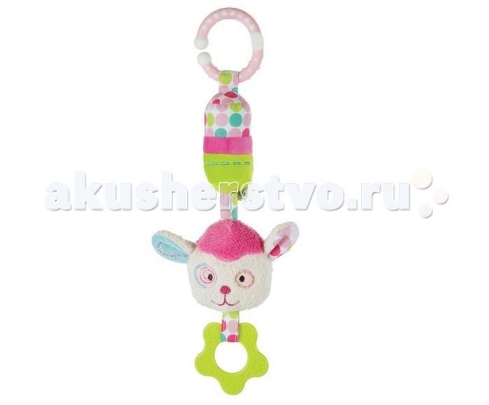 Прорезыватели Жирафики Подвеска с колокольчиком Милашка Пэнни игрушка подвеска акробат хрюнтик с колокольчиком