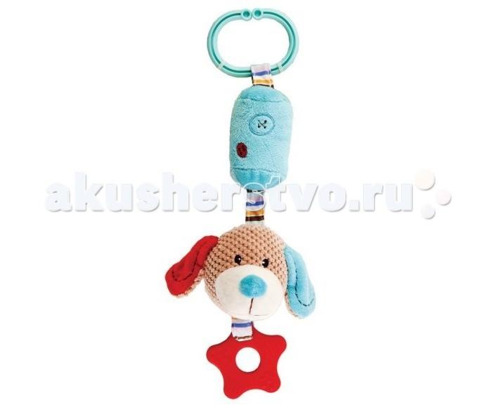 Прорезыватели Жирафики Подвеска с колокольчиком Собачка Билли жирафики игрушка подвеска собачка