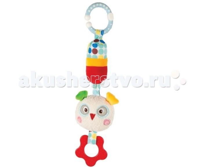 Прорезыватели Жирафики Подвеска с колокольчиком Совёнок Бонни игрушка подвеска акробат хрюнтик с колокольчиком