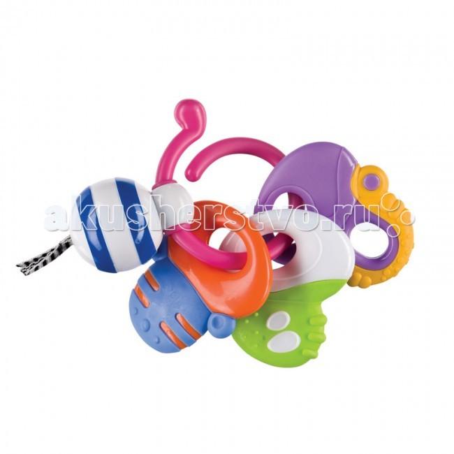 Погремушки Happy Baby прорезыватель Keys of Fun погремушки s s мягкая погремушка тапочки носочки