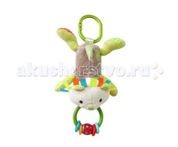 Подвесные игрушки Жирафики с погремушкой Львенок Леси жирафики игрушка подвеска львенок 93929