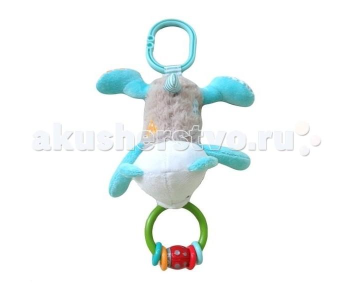Подвесные игрушки Жирафики с погремушкой Мишка Митя развивающая игрушка жирафики подвеска коровка с погремушкой 93819