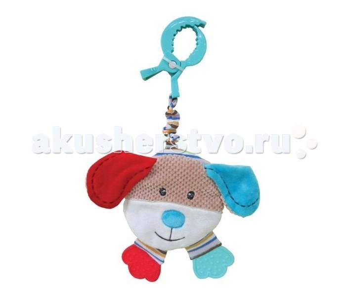 Подвесные игрушки Жирафики Подвеска-книжка с шуршалкой Собачка Билли жирафики игрушка подвеска собачка