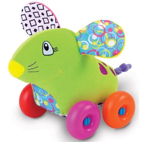 Каталка-игрушка Жирафики Мышка