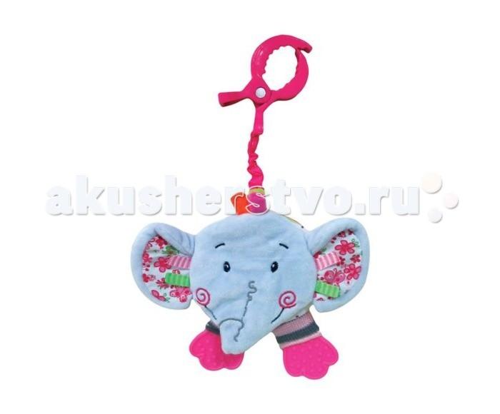 цены Подвесные игрушки Жирафики книжка с шуршалкой Слонёнок Тим