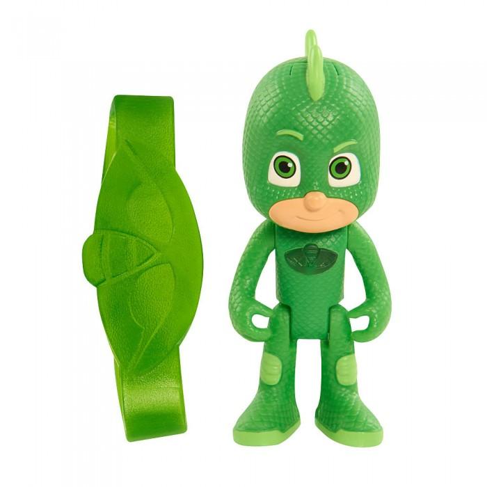 Игровые наборы Герои в масках (PJ Masks) Игровой набор фигурка Гекко 8 см со светом и браслет