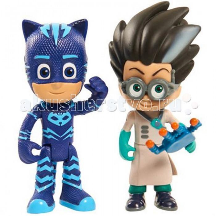 Игровые фигурки Герои в масках (PJ Masks) Игровой набор Кэтбой и Ромео 2 фигурки по 8 см фигурки игрушки pj masks фигурка кэтбой тм герои в масках 8 см