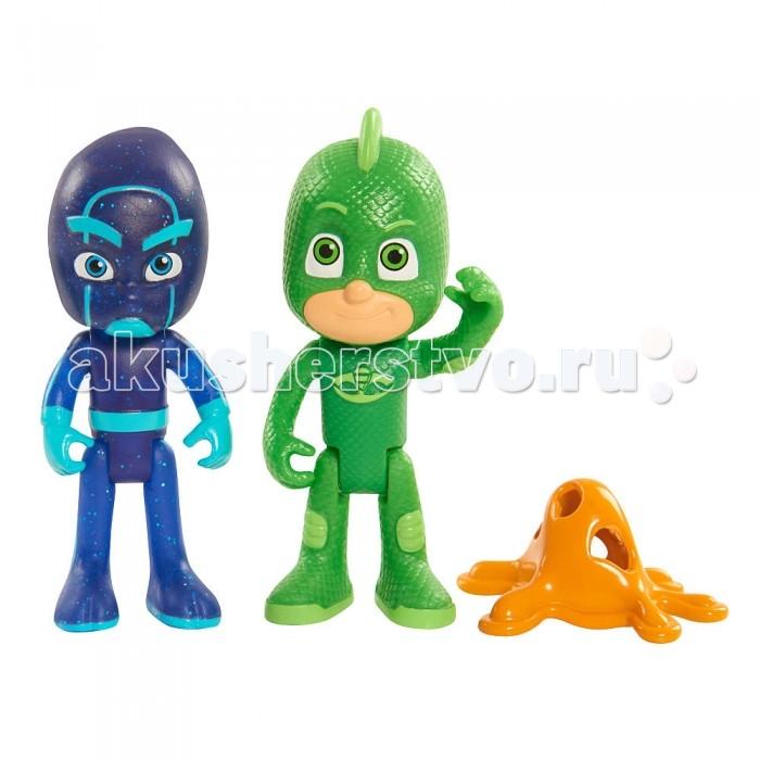 Игровые фигурки Герои в масках (PJ Masks) Игровой набор Гекко и Ниндзя 2 фигурки по 8 см