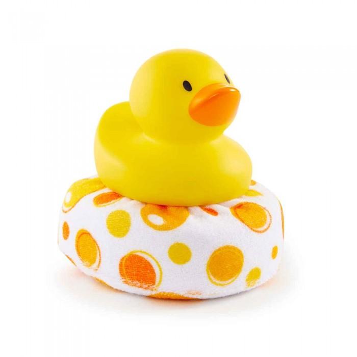 Мочалки Munchkin Мочалка для ванны Уточка 0+ игрушки для ванны munchkin игрушка для ванны пингвин пловец