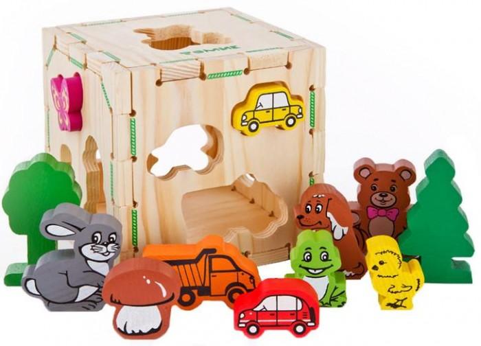 Деревянная игрушка Томик Сортер Веселые фигурки