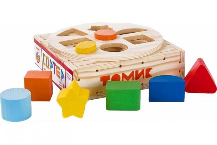 деревянные игрушки томик сортер геометрические фигуры Деревянные игрушки Томик Сортер Круг