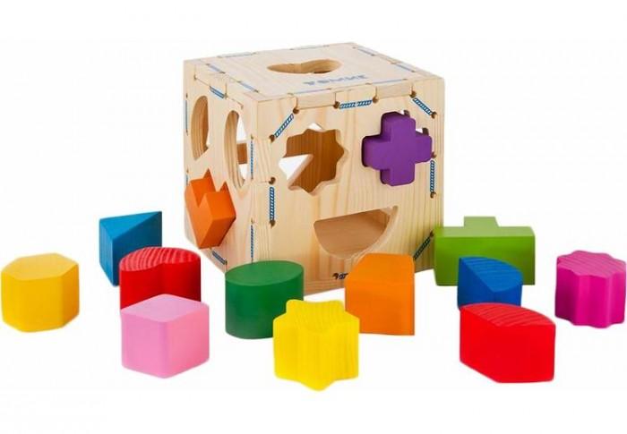 Деревянные игрушки Томик Сортер Геометрические фигуры геометрические фигуры из гипса в донецке