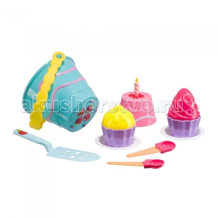 Игрушки для зимы Happy Baby Набор для игр с песком Pie
