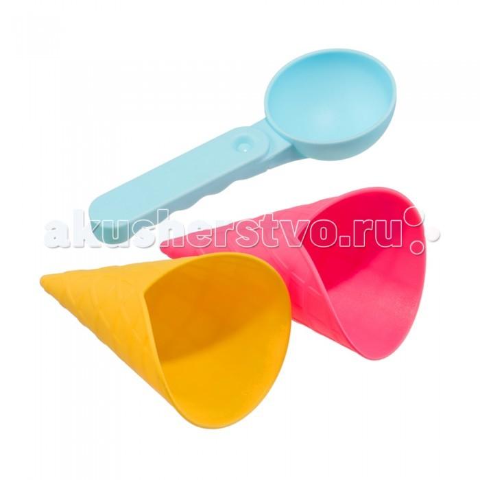 Игрушки для зимы Happy Baby Набор для игр с песком Ice-Cream