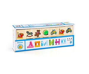 Настольные игры Томик Домино Игрушки логические игрушки