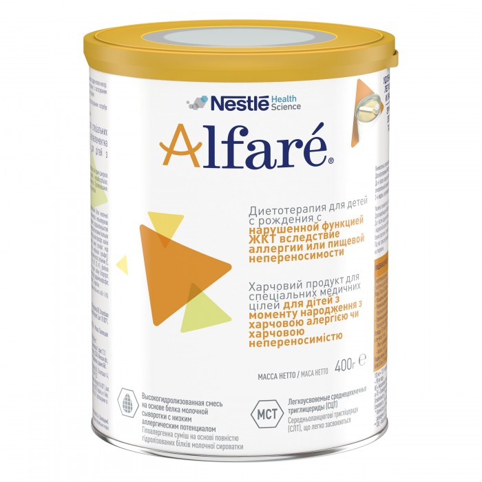 Детское питание , Молочные смеси Nestle Alfare Лечебная смесь 400 г арт: 300760 -  Молочные смеси