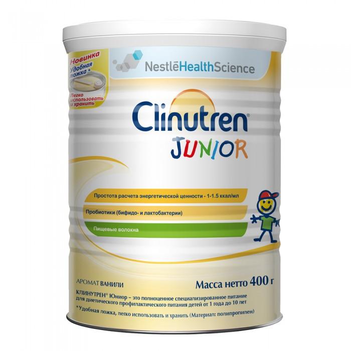 Молочные смеси Nestle Clinutren Junior Специализированная смесь 400 г шоколад milka молочный с цельным фундуком 90г