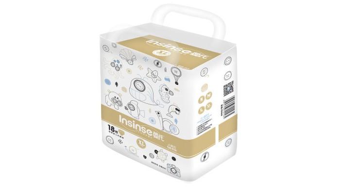 Подгузники Insinse Подгузники Q6 ХL (13+ кг) 18 шт. супертонкие
