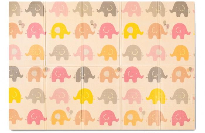Игровой коврик Parklon Портативный Portable Слонята 140х200Портативный Portable Слонята 140х200Игровой коврик Parklon Портативный Portable Слонята 140х200 придется по вкусу и детям и взрослым. Малышам понравятся разноцветные слоники, а родители оценят стильный сдержанный дизайн, который с легкостью впишется в любой интерьер.  В основе изделия лежит особый гипоаллергенный пищевой полиэтилен, который совершенно безопасен для детей. Материал не выделяет вредных летучих веществ, в том числе и при нагревании.  Важной особенностью коврика является его компактность: коврик можно легко сложить по специальным линиям. Для удобства транспортировки предусмотрены специальные ручки. В сложенном состоянии размеры изделия составляют всего 40 x 70 x 12 см!  Особенности: рифленая поверхность, что предотвращает вероятность скольжения абсолютная экологическая безопасность привлекательный дизайн, разработанный с учетом особенностей детской психологии водонепроницаемость легкая очистка от любых загрязнений, ведь коврик можно мыть моющими средствами малый вес (1,2 кг) высокие шумоизоляционные показатели Коврик Portable можно смело брать с собой на отдых и быть уверенным в том, что малышу будет обеспечена полноценная и безопасная зона для игр.<br>