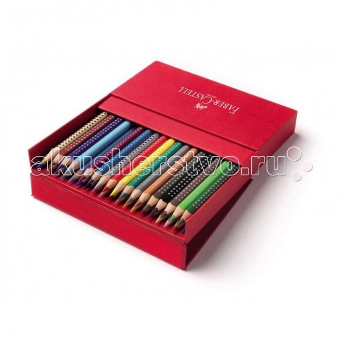 Развитие и школа , Карандаши, восковые мелки, пастель Faber-Castell Цветные карандаши Grip 2001 в студийной коробке 36 шт. арт: 301087 -  Карандаши, восковые мелки, пастель