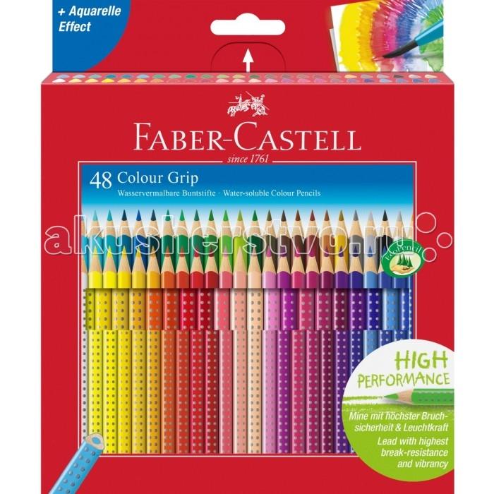 Развитие и школа , Карандаши, восковые мелки, пастель Faber-Castell Цветные карандаши Grip 2001 в картонной коробке 48 шт. арт: 301093 -  Карандаши, восковые мелки, пастель