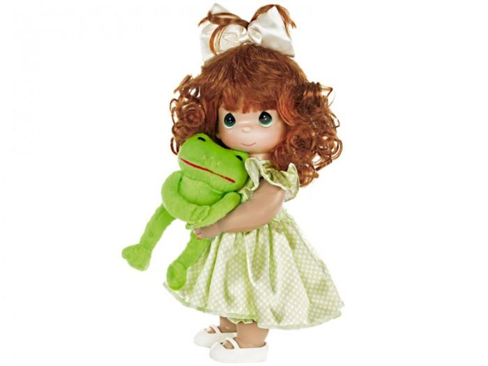 Куклы и одежда для кукол Precious Кукла Девочка и лягушонок Элли 30 см куклы и одежда для кукол precious кукла варвара 30 см
