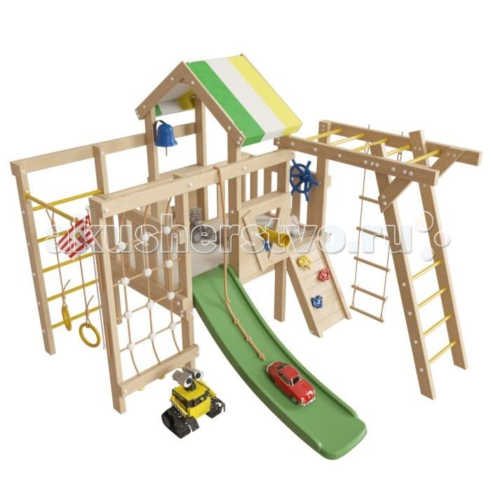Игровые комплексы Самсон Детский игровой чердак для дома и