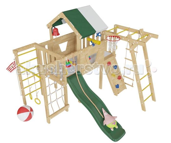 Летние товары , Игровые комплексы Самсон Детский игровой чердак для дома и дачи Патрик арт: 301477 -  Игровые комплексы