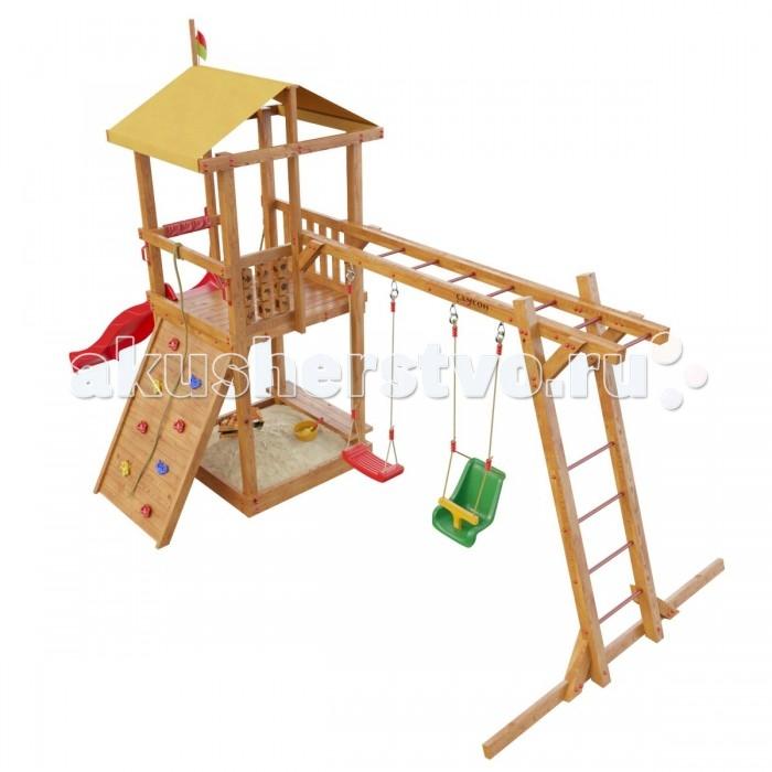 Летние товары , Игровые комплексы Самсон Детская игровая площадка Мадагаскар 2017 арт: 301534 -  Игровые комплексы