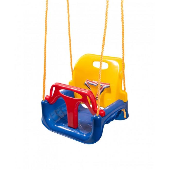 Качели Самсон Качели-кресло 3 в 1Качели-кресло 3 в 1Самсон Качели-кресло 3 в 1- это дополнительная комплектация к ДИП   Качели - кресло самая любимая часть детской площадки любого ребенка. Малыши часами могут раскачиваться, обсуждая новости друг с другом, и при этом развивают вестибулярный аппарат, мышцы поясницы.   Особенности:  Качели состоят из трех частей, длина троса регулируемая до 150 см,  Максимальный допустимый вес: 60 кг Для детей от 1 года до 9 лет.  Габариты: 455 x 300 x 465 мм.  Материал: Пластик,веревка.  Вес: 2 кг.<br>