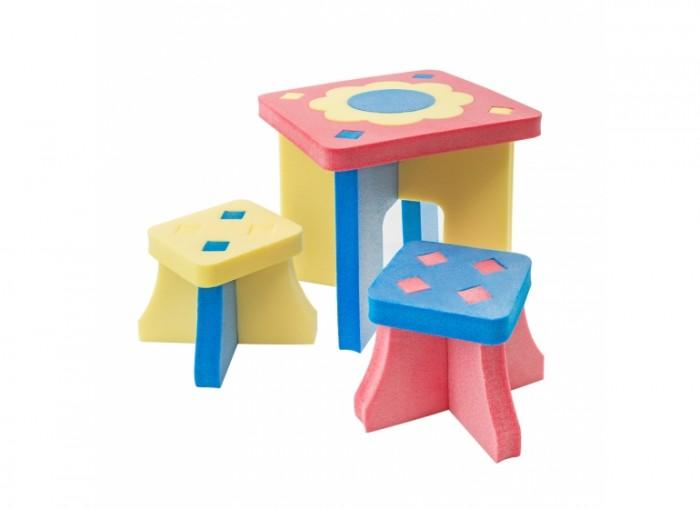 TweetSweet Комплект игровой мебели Sunflower TableКомплект игровой мебели Sunflower TableTweetSweet Комплект игровой мебели Sunflower Table станет неотъемлемой частью в детской или игровой комнате. Компактный разборный набор мебели состоящий из столика и двух детских стульчиков, отличается оригинальным дизайном и предназначен для проведения досуга и развития маленькой шалуньи.   Комплекс разборный, состоит из 11 частей. Выполнен из экологически чистого, антиаллергенного полиэтилена, в ярких весёлых цветах. Устойчивость и надёжность материалов и оригинальная конструкция этого комплекта модульной мебели оставят довольными детей и их родителей. Безопасный, надёжный, привлекающий внешним видом комплекс прослужит долгое время, став частью комфортного детства.  В комплект входит: столик  2 стульчика<br>