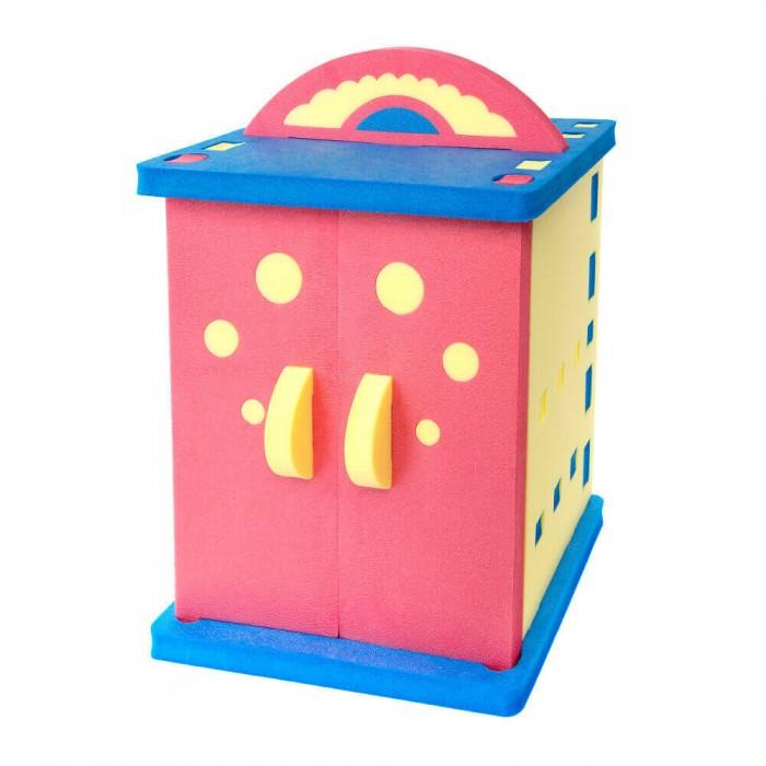 TweetSweet Детский шкаф Print Sized GarderobeДетский шкаф Print Sized GarderobeTweetSweet Детский шкаф Print Sized Garderobe - это оригинальная детская игровая мебель. При производстве использован многоцветный вспененный полиэтилен, отличающийся высокой степенью экологичности и гипоаллергенности.  Детская игровая мебель креативного дизайна никогда не наскучит ребенку. Яркий и небольшой разборный шкаф прекрасно выполнит две задачи: будет местом для хранения детского гардероба и игрушек, а также станет увлекательной игровой мебелью для вашего маленького непоседы.  Размер: 66 x 50 x 95 см Количество частей: 21 шт.<br>