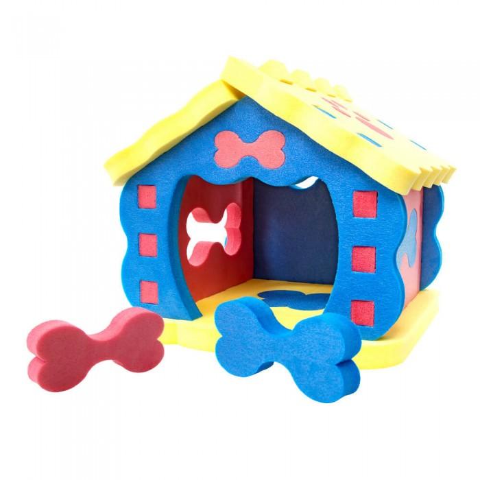 TweetSweet Домик для животных Pet HouseДомик для животных Pet HouseTweetSweet Домик для животных Pet House - это оригинальная дизайнерская конструкция, не занимающая много места в доме и прекрасно вписывающая в интерьер современного жилища.  Замечательный красочный домик для домашних животных изготовлен из безопасных и экологичных блоков вспененного полиэтилена. Установить такую компактную и мобильную конструкцию можно в любом уголке дома, где только кошке или собаке будет комфортно.  Домик для питомцев легко моется и дезинфицируется, а при желании разбирается и снова собирается как конструктор.  Размер домика: 70 x 70 x 52 см Количество частей: 23 блока<br>