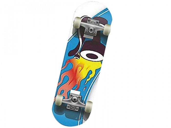 Скейтборды MaxCity Скейтборд MC Hot Wheels скейтборды maxcity скейтборд mc dragon