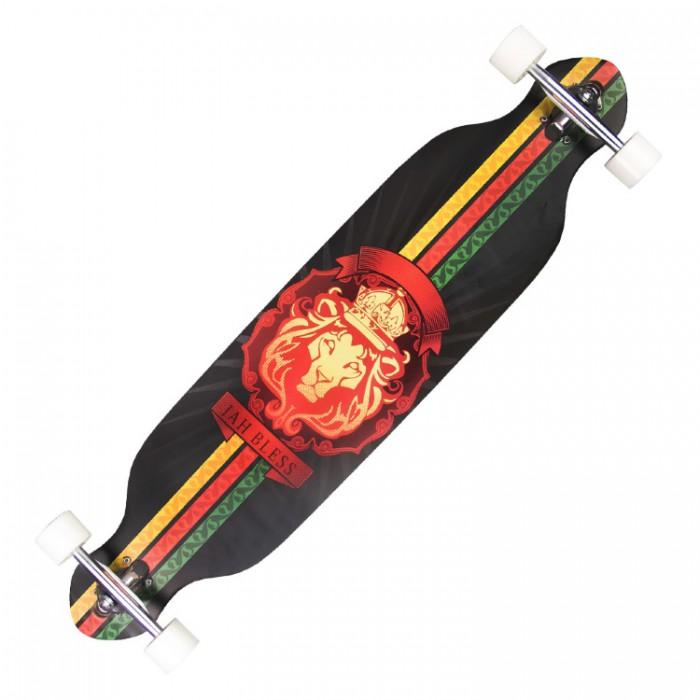 Детский транспорт , Скейтборды MaxCity Скейтборд MC Long Board 42 Lion арт: 302143 -  Скейтборды