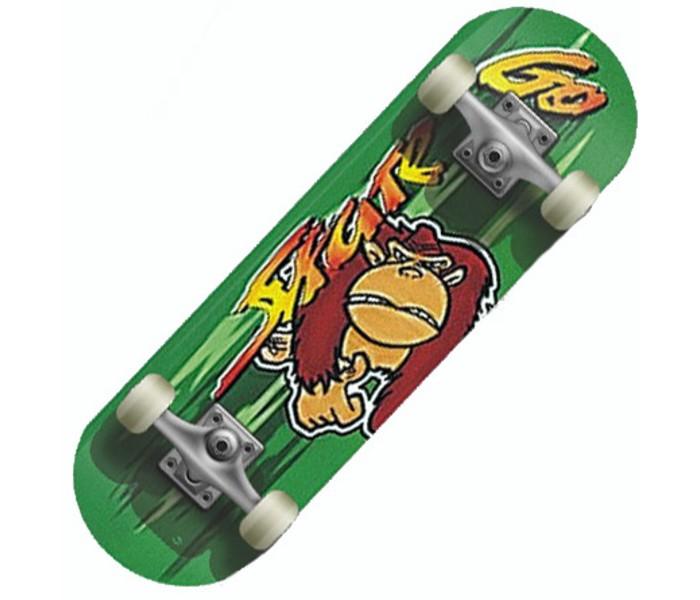 Скейтборды MaxCity Скейтборд MC Monkey скейтборды maxcity скейтборд mc dragon